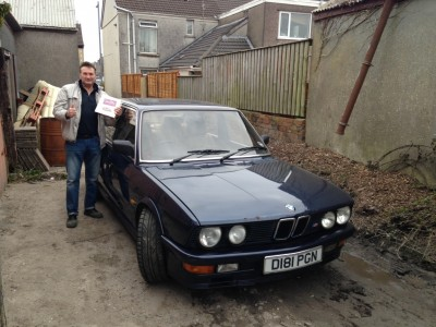 BMW M535i HANDOVER