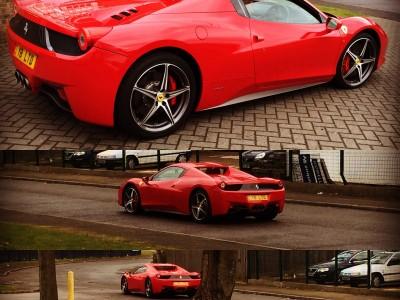 Ferrari458 Bye